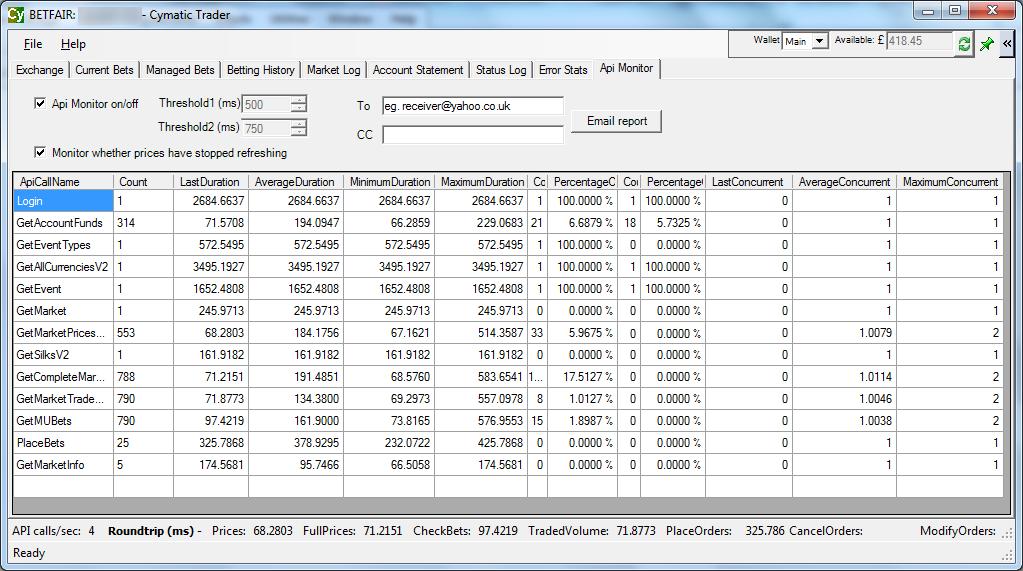 trading software betfair free