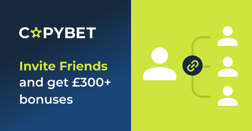 CopyBet's new bonus program – Invite Friends