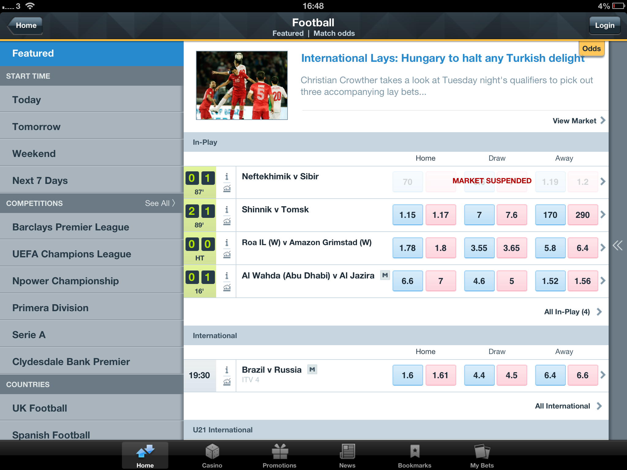 download betfair app