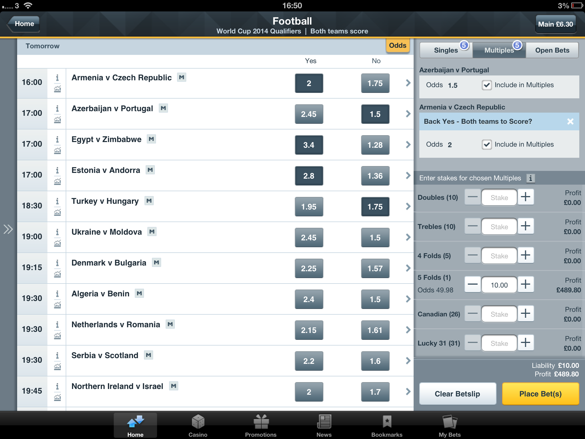 betfair mobile exchange